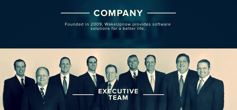 Wake Up Now Executive Team
